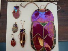 glass bugs handmade Rina Galimberti