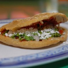 gorditas de chorizo o chicharrón.. Now i need to make some. mmmm good! i need to make some i like the ones with chicken or shredded beef.