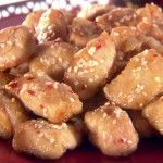 Baked sesame chicken--Melissa D'Arabian