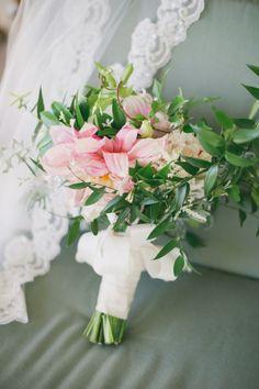Spring bouquet: http://www.stylemepretty.com/little-black-book-blog/2014/04/28/romantic-al-fresco-temecula-wedding/   Photography: One Love - http://onelovephoto.com/