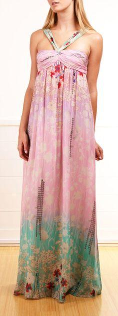 Pretty Floral Maxi Dress.
