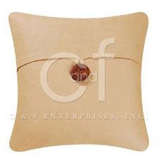 Tan Feather Down Pillow | OceanStyles.com
