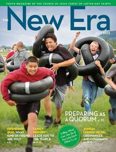 New Era - July 2013 . Free PDF Edition for download.