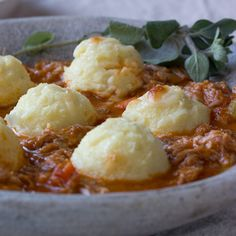 Winter Recipe: Pork Ragu with Semolina Gnocchi