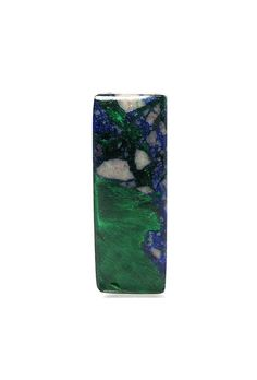 Blue Azurite Chatoyant Green Malachite Feathers by FenderMinerals,