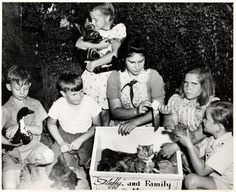 Prize awarded at the Encino Elementary School Pet Show, March 12, 1946. Republic Pictures star Allan Lane (not shown) handed out ribbons and congratulated the winners. San Fernando Valley History Digital Library.