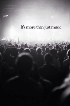 It's not just music. It's so much more.