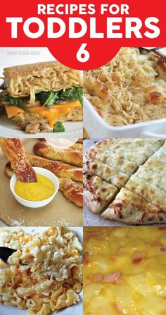 Toddler Food Ideas. 6 recipes that just might work!