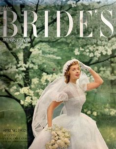 vintage bride 1952