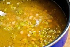 white chicken chili.  Add jalapeno to step it up a notch