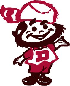 DU pioneers mascot... Welcome to Boonetown!