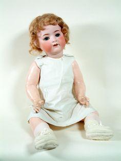 "Life Size 26"" Heubach Kooplesdorf 320 Antique German Character Baby Doll A O   eBay"