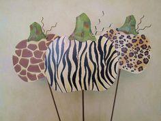 animals, print stake, shirts, anim print, safari, pumpkins, animal prints, yards