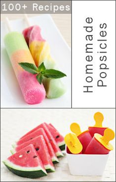 100+ homemade popsicle recipes