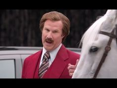 RON BURGUNDY Dodge Commercial 2 - Horse Power - Will Ferrell