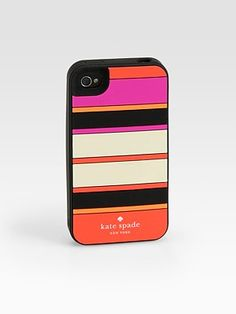 striped iphone case / kate spade