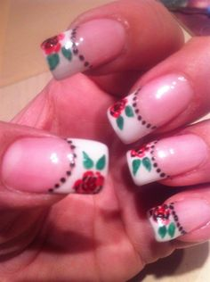 Roses - Nail Art Gallery by NAILS Magazine