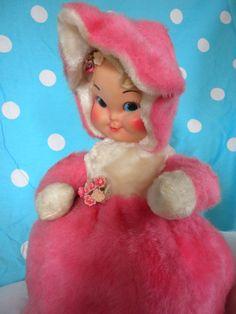 Vintage pajama doll--I still have mine, only she has a purple dress ....