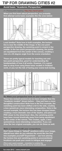 Drawing Cities 2 - Academic Perspective by `fox-orian on deviantART
