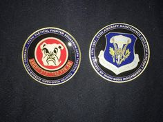 USAFE 313th Tactical Fighter Squadron Challenge Coin