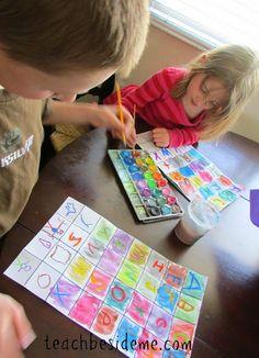 Alphabet Pop Art for Kids