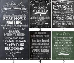 scripts, chalkboards, chalk board fonts, dreams, dream come true