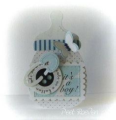 baby boy bottle card - bjl