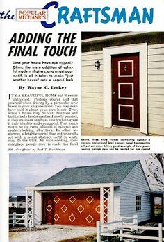 Mid-Century Doors and Garages