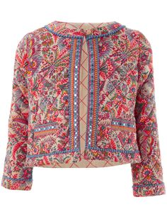 Camile Quilted Jacket | Multi | Monsoon