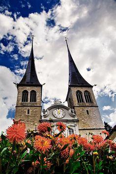 St. Leodegar Church - Luzern, Switzerland
