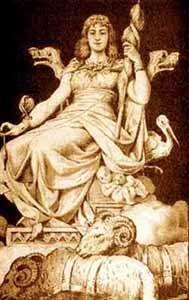Norse Gods and Goddesses - Frigg