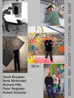 "Peter Reginato. ""Painters Who Sculpt/Sculptors Who Paint"" Group show at Noho Gallery, November 4-22, 2014."
