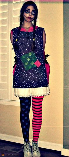 Creepy Doll - 2012 Halloween Costume Contest