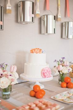 Creative & Sweet Pastel Art Birthday Party By Hostess With the Mostess