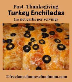 Post-Thanksgiving Turkey Enchilada Recipe