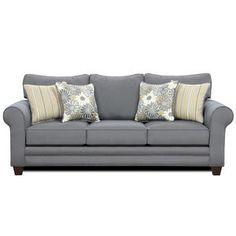blue fabric, fabric sofa, baystreet sofa, schooner blue
