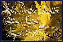 My Crafty World: PCS Sublime Nuptials~August 2012  Great Sampler full of awesome Wedding ideas!!