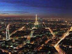 Paris:Beautiful Pictures of Cities at Night (55 pics)