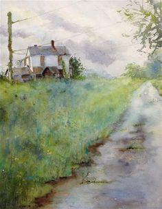 "[""Abandoned"" - Original Fine Art for Sale - © Judy Mudd] ..."