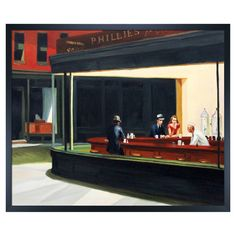 Nighthawks by Hopper