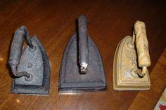 antique irons - 1900's