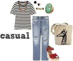 """casual"" by stellastarstella on Polyvore"