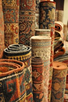 Unrolling a Persian Carpet is like opening a treasure chest ... stunning, outstanding surprises.