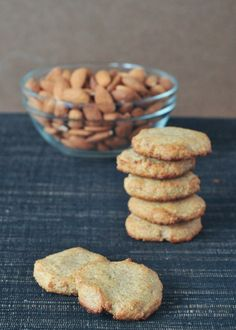 Almond cookies @Ricki Wells Wells Heller 's delicious new cookbook, Naturally Sweet and Gluten Free