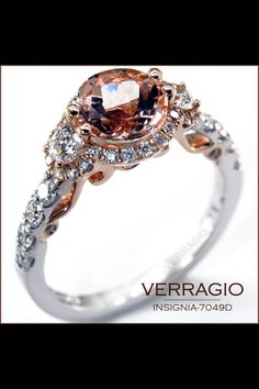 Gorgeous, incredibly unique engagement ring by Verragio. So in love!