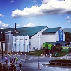 Our factory in Waterbury, Vermont. Want a sneak peak inside? Follow the hashtag #benandjerrysfactorytour! (Taken with Instagram at Ben & Jerry's)