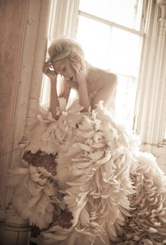 Abandoned Fashion Series - Luke Woodford - Fashion Photography - Bird Concept Ideas - Swan