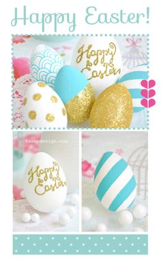 isabo, decorated eggs, pip studio, easter craft