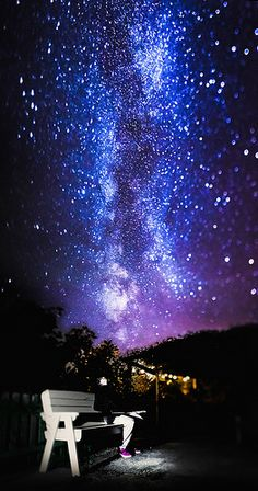 Unbelievable. And it's just one of millions of galaxies. We've got some amazing God.  163/365 - Tilt Shift Milky Way