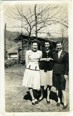 Coal Mine Fashion --- in the mining camp at Ameagle, West Virginia in the 1940s.